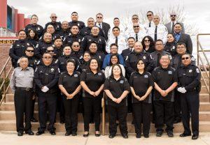 Law Enforcement Program Group Formal Smiling